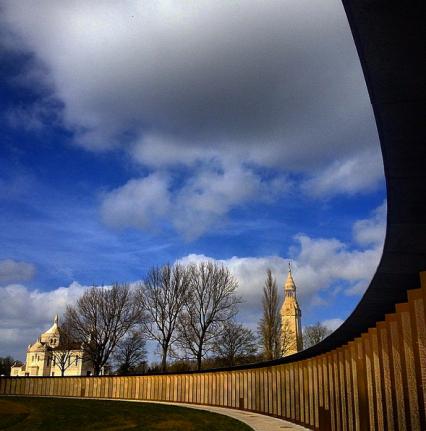 Monument Notre Dame de Lorette (foto nam ik de voorbije winter...)