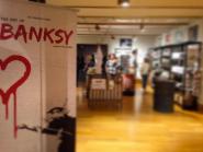 De exposhop van antikapitalist Banksy...