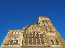 De basiliek van Vézelay