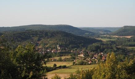 Bourgogne is groen en heuvelachtig