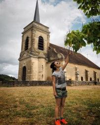 Het kerkje Asquins