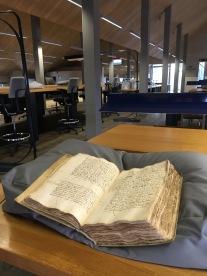 Leeszaal van het archief