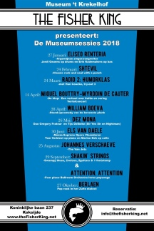 affiche museumsessies 2018